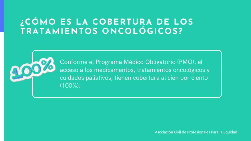 Cobertura de tratamientos oncológicos Argentina