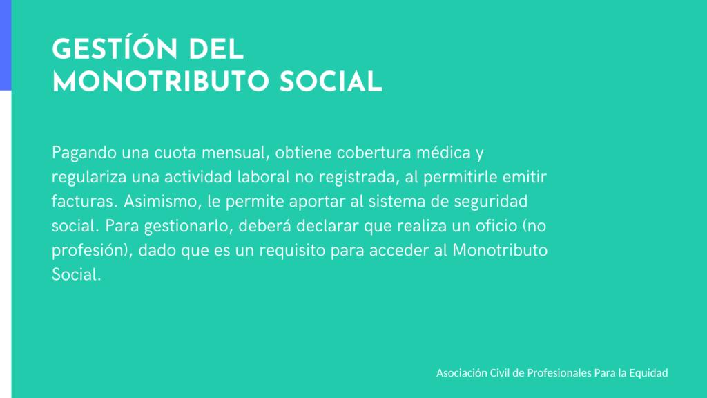 Acceso a tratamientos por Montributo Social, ASPPE