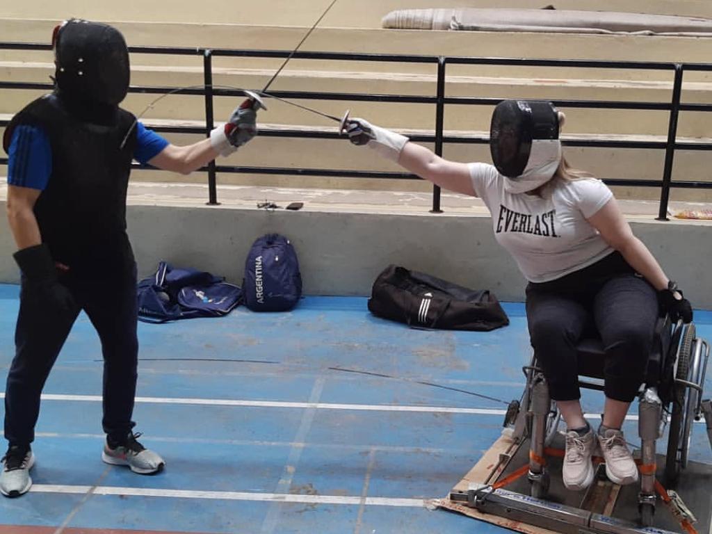 Deporte adaptado: la esgrima como símbolo de lucha